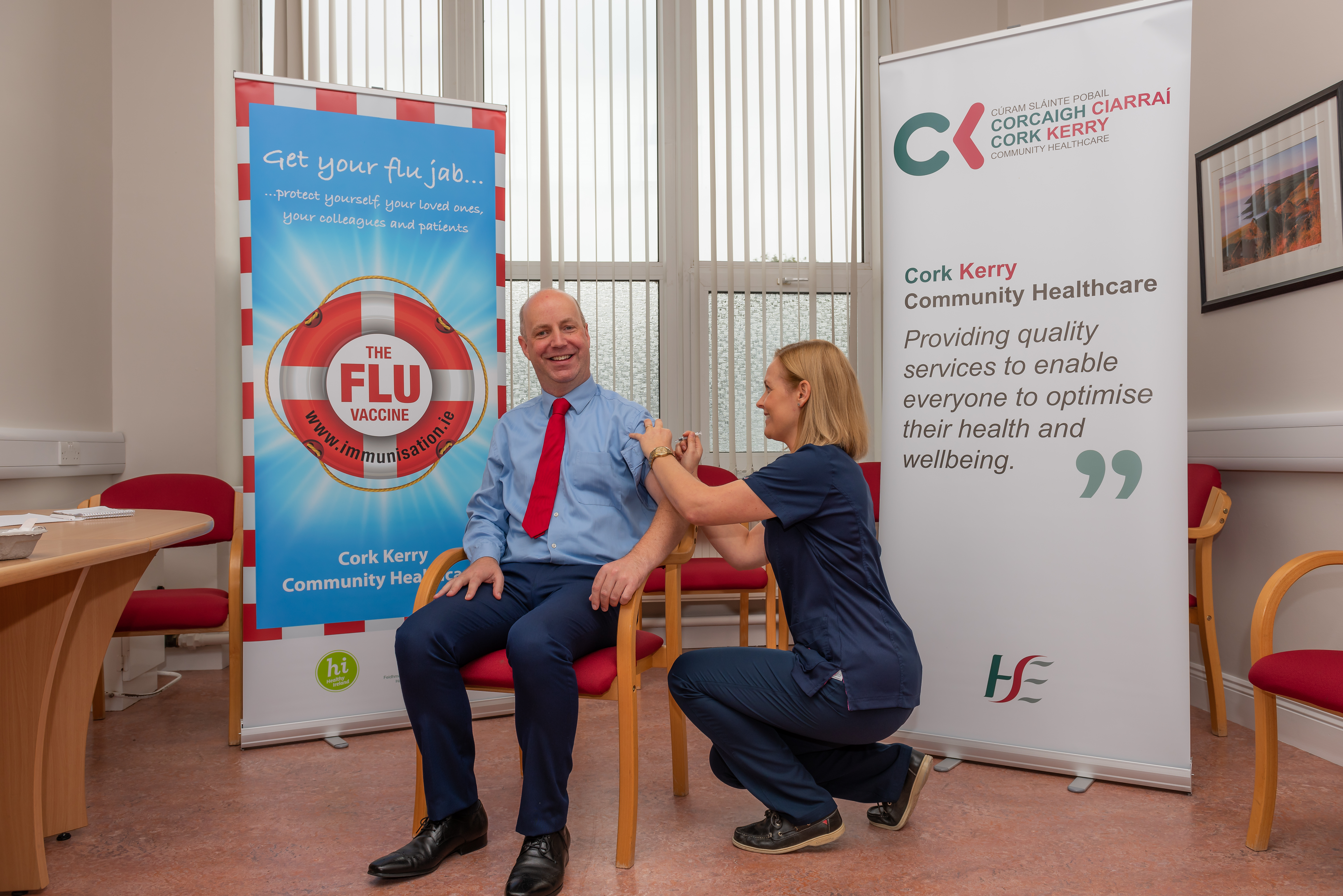 Get the vaccine, not the flu – Daly : Jim Daly TD